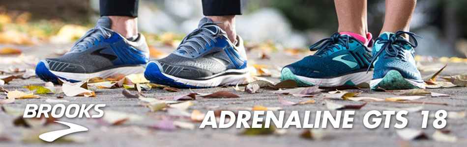 NEW Brooks Adrenaline GTS 18