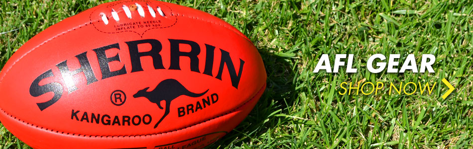 AFL gear - shop now