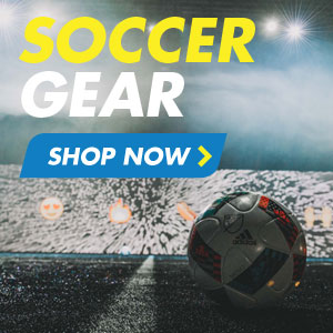 Soccer gear - shop now