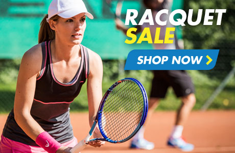 Tennis racquet sale - shop now