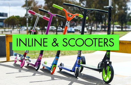 Inline and scooters