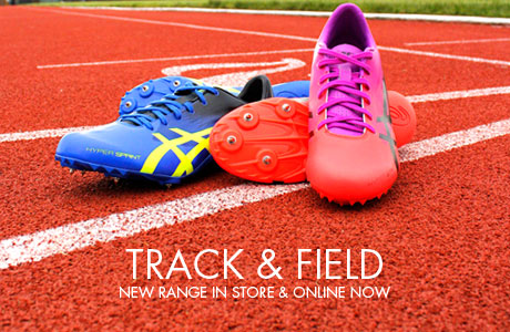 Track and Field new range