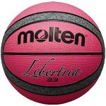 Molten Libertria Rubber Basketball - SIZE 6 - PINK/GREY Molten Libertria Rubber Basketball - SIZE 6 - PINK/GREY