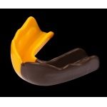 Signature Type 2 TEEN Mouthguard - Brown/Yellow Signature Type 2 TEEN Mouthguard - Brown/Yellow