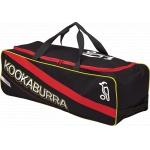 Kookaburra Pro 600 Cricket Wheel Bag - Black/Red - 2017/2018 Kookaburra Pro 600 Cricket Wheel Bag - Black/Red - 2017/2018