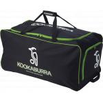 Kookaburra Kit Bag with Wheels - BLACK/LIME Kookaburra Kit Bag with Wheels - BLACK/LIME