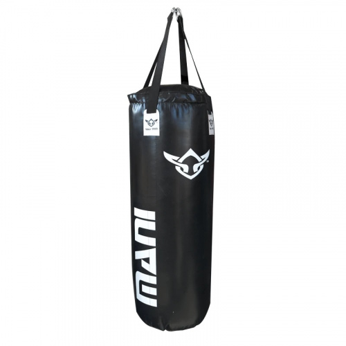 Mani 4ft Foam Lined Boxing Bag - BLACK