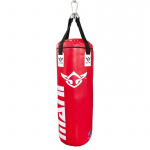 MANI 4ft Boxing Bag - Filled Commercial Grade - RED MANI 4ft Boxing Bag - Filled Commercial Grade - RED