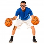 Image 2: Spalding Dribble Goggles