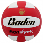 BADEN Sandshark Official Beach Game Volleyball - RED/WHITE BADEN Sandshark Official Beach Game Volleyball - RED/WHITE