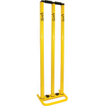 Kookaburra Metal Stumps - Yellow Kookaburra Metal Stumps - Yellow