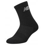New Balance Junior Vanquish Crew Sock (size 1-6) - Black New Balance Junior Vanquish Crew Sock (size 1-6) - Black