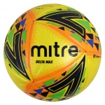 Mitre Delta Max Match Soccer Ball - Yellow Mitre Delta Max Match Soccer Ball - Yellow