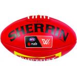 Sherrin AFLW Replica Game Football - RED Sherrin AFLW Replica Game Football - RED