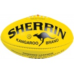 Sherrin KB Football Veg Tan Yellow - Size 4 Sherrin KB Football Veg Tan Yellow - Size 4