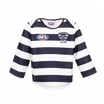 Burley Geelong Cats AFL Infants Long Sleeve Replica Guernsey - (SIZE 2) Burley Geelong Cats AFL Infants Long Sleeve Replica Guernsey - (SIZE 2)