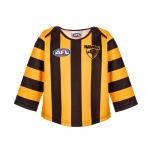 Burley Hawthorn Hawks AFL Infants Long Sleeve Replica Guernsey - (SIZE 2) Burley Hawthorn Hawks AFL Infants Long Sleeve Replica Guernsey - (SIZE 2)