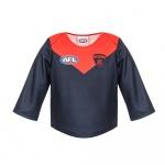 Burley Melbourne Demons AFL Infants Long Sleeve Replica Guernsey - (SIZE 2) Burley Melbourne Demons AFL Infants Long Sleeve Replica Guernsey - (SIZE 2)