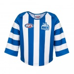 Burley Nth Melbourne Kangaroos AFL Infants Long Sleeve Replica Guernsey - (SIZE 2) Burley Nth Melbourne Kangaroos AFL Infants Long Sleeve Replica Guernsey - (SIZE 2)