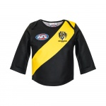 Burley Richmond Tigers AFL Infants Long Sleeve Replica Guernsey - (SIZE 2) Burley Richmond Tigers AFL Infants Long Sleeve Replica Guernsey - (SIZE 2)