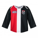 Burley St Kilda Saints AFL Infants Long Sleeve Replica Guernsey - (SIZE 2) Burley St Kilda Saints AFL Infants Long Sleeve Replica Guernsey - (SIZE 2)