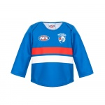 Burley Western Bulldogs AFL Infants Long Sleeve Replica Guernsey - (SIZE 2) Burley Western Bulldogs AFL Infants Long Sleeve Replica Guernsey - (SIZE 2)