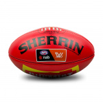 Sherrin KB AFLW Official Game Ball - RED Sherrin KB AFLW Official Game Ball - RED