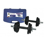 RINGMASTER 20KG DUMBBELL SET WITH CARRY CASE RINGMASTER 20KG DUMBBELL SET WITH CARRY CASE