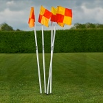 Mitre Corner Flags Fixed Set Mitre Corner Flags Fixed Set