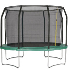 Action Gold Series 10ft Round Trampoline with Enclosure Action Gold Series 10ft Round Trampoline with Enclosure