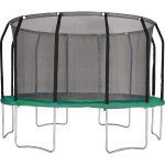 Action Gold Series 16ft Round Trampoline with Enclosure Action Gold Series 16ft Round Trampoline with Enclosure