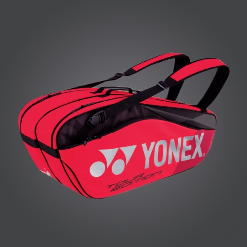 Yonex Pro Series 6R Tennis Bag - Flame Red