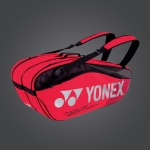 Yonex Pro Series 6R Tennis Bag - Flame Red Yonex Pro Series 6R Tennis Bag - Flame Red