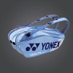 Yonex Pro Series 6R Tennis Bag - Clear Blue Yonex Pro Series 6R Tennis Bag - Clear Blue