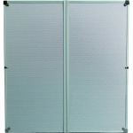 ONE80 Dartboard Cabinet - Alloy