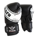 MANI Kids Boxing Glove 6oz - BLACK/WHITE MANI Kids Boxing Glove 6oz - BLACK/WHITE