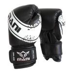 MANI Kids Boxing Glove 6oz - BLACK/WHITE MANI Kids Boxing Glove 6oz - BLACK/WHITE