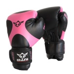 MANI Junior Boxing Glove 8oz - BLACK/PINK MANI Junior Boxing Glove 8oz - BLACK/PINK