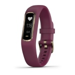 Garmin VIVOSMART 4 Activity Tracker - Berry/Light Gold Garmin VIVOSMART 4 Activity Tracker - Berry/Light Gold