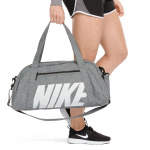 Nike Womens Gym Club Training Duffel Bag - BLACK/BLACK/VAST GREY Nike Womens Gym Club Training Duffel Bag - BLACK/BLACK/VAST GREY