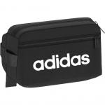 Adidas Linear Core Waistbag - Black/Black/White Adidas Linear Core Waistbag - Black/Black/White