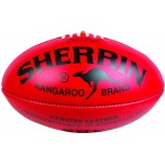 Sherrin KB Red Football - Size 4 Sherrin KB Red Football - Size 4