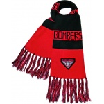 Burley Essendon Bombers AFL Bar Scarf Burley Essendon Bombers AFL Bar Scarf