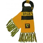 Burley Hawthorn Hawks AFL Bar Scarf Burley Hawthorn Hawks AFL Bar Scarf