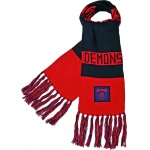 Burley Melbourne Demons AFl Bar Scarf Burley Melbourne Demons AFl Bar Scarf