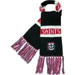 Burley St Kilda Saints AFL Bar Scarf Burley St Kilda Saints AFL Bar Scarf