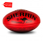 Sherrin KB Blemish Red Football - FACTORY SECONDS Sherrin KB Blemish Red Football - FACTORY SECONDS