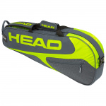 Head Elite 3R Pro Tennis Bag - GREY/NEON YELLOW Head Elite 3R Pro Tennis Bag - GREY/NEON YELLOW