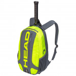 Head Elite Backpack Tennis Bag - GREY/NEON YELLOW (RACQUET NOT INCLUDED) Head Elite Backpack Tennis Bag - GREY/NEON YELLOW (RACQUET NOT INCLUDED)