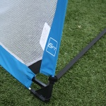 Image 2: Alpha Gear 6ft Round Pop Up Goals - Pair